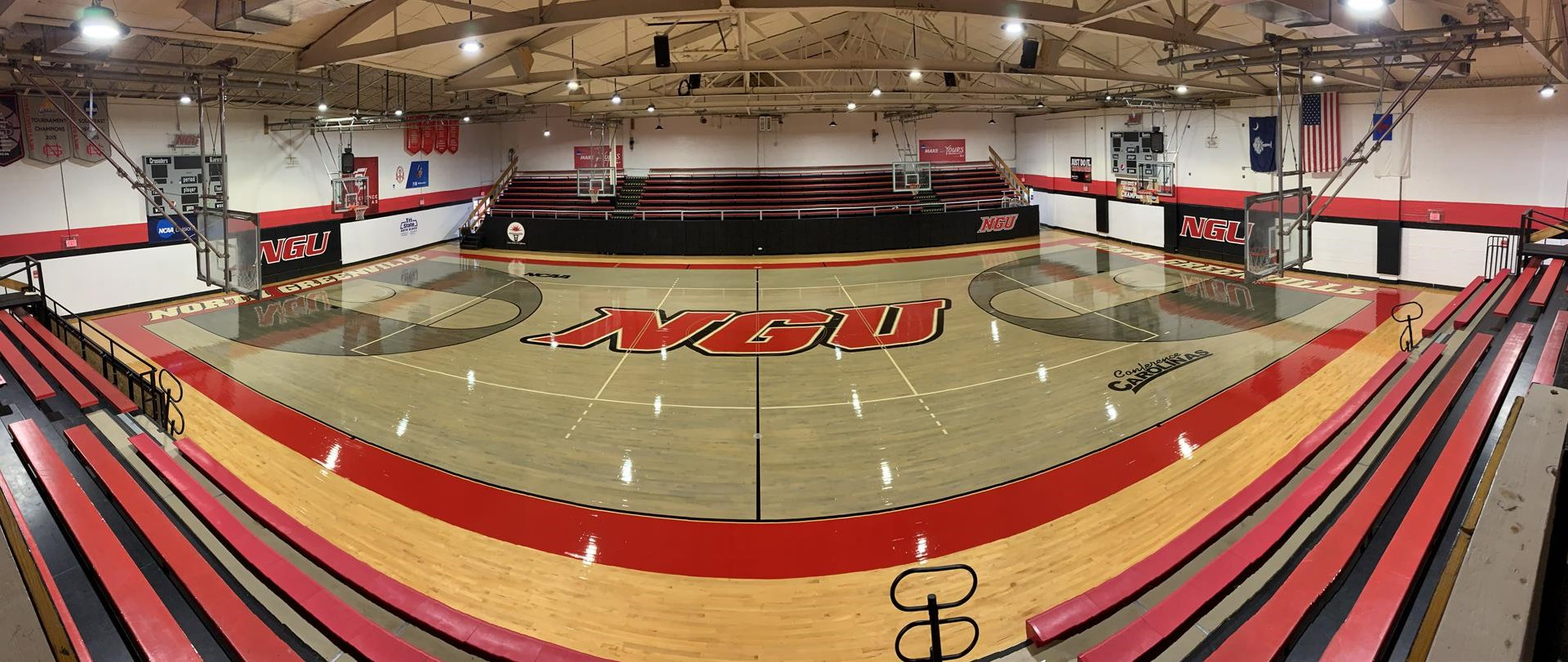Hayes Gymnasium Facilities North Greenville University